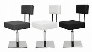 Chaise Pied Chromé : chaise au design unique avec pied chrom caymany mobilier moss ~ Teatrodelosmanantiales.com Idées de Décoration