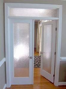 interior french door obscure glass door co on our With interior door transom ideas