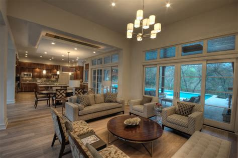 Decorating Ideas For Open Living Room And Kitchen - open concept kitchen living room designs home interior ideas