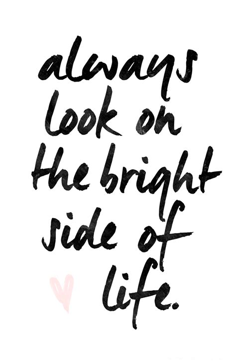bright side  life inspiring quotes