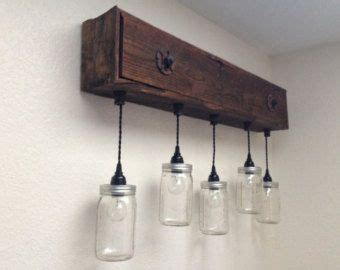 Oak Bathroom Light Fixtures by Vanity Light Fixture Reclaimed Oak Barnwood By