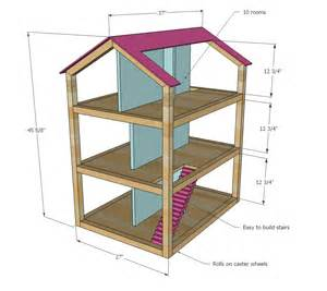 build your house free white dollhouse diy projects