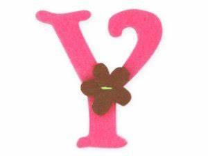 pink felt alphabet letters iron on 25mm motif motif girl With pink felt letters