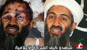 Osama Bin Laden's dead body picture photoshoped ...