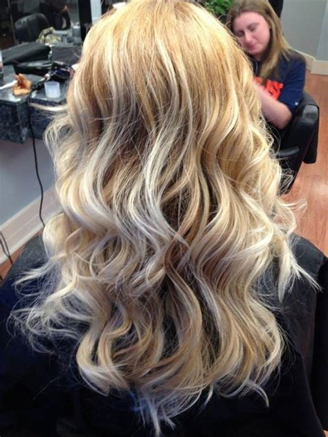 blonde ombre  golden blonde hair cute hairstyles
