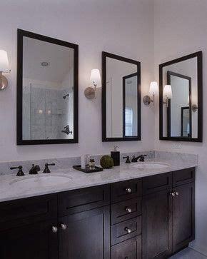 mixed metals bathroom orb knobs mirror nickel faucet