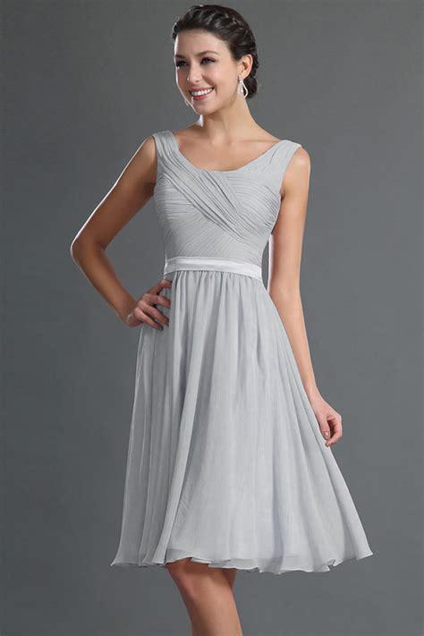 robe pour mariage chetre robe courte genoux couleur tourterelle pour cocktail de