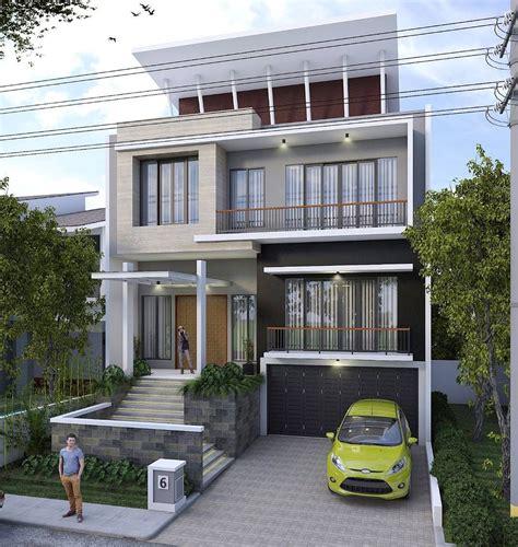 rumah mewah modern minimalis type  desain rumah