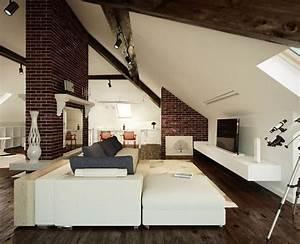 Quiet, Corner, Attic, Space, Interior, Design, Ideas