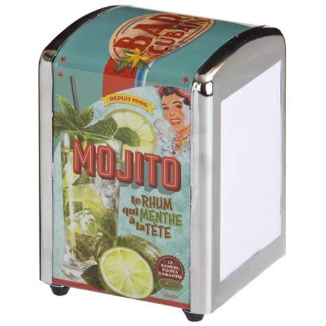 distributeur papier cuisine distributeur de serviettes mojito natives déco rétro
