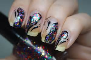 Colorful butterfly nail art lacquer uk