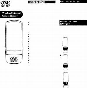 Genie Garage Door Opener Sd9500 User Guide