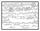 Canoe Coloring Douche Printable Adult Getcolorings Sheet sketch template