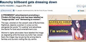 Ad watchdog bans strip club poster because it may show ...