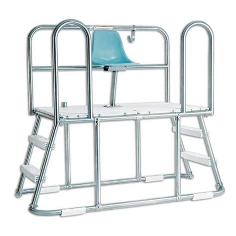 paragon 20370 lookout platform lifeguard chair