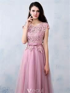 Elegant Lace Long Party Dresses