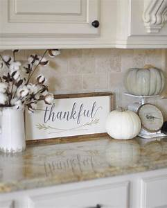 30 beautiful rustic decorations for fall that are easy to for Kitchen colors with white cabinets with funny wall art quotes