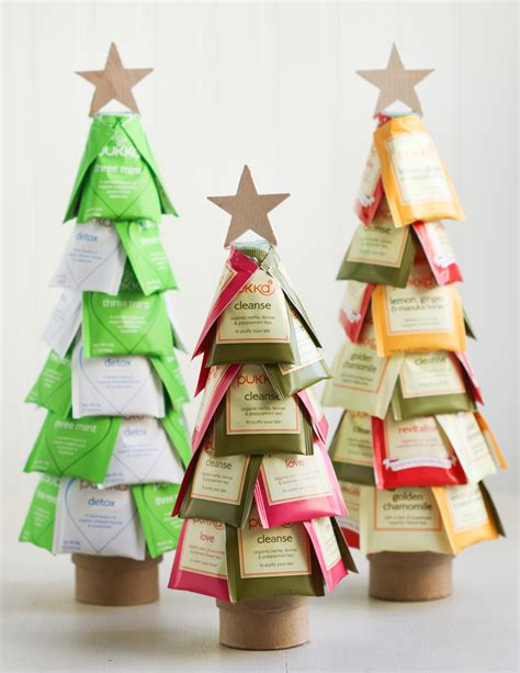 diy christmas tea trees craft diy pinterest