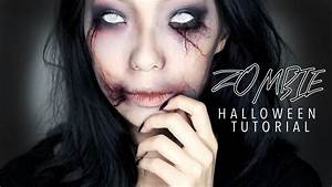 Creepy Zombie Girl Halloween Makeup Tutorial - YouTube