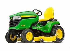 John Deere X534 Lawn Mower Tractor