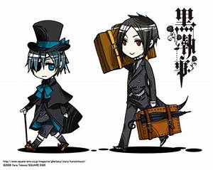 Bananaaddict images Ciel and Sebastian (Chibi) wallpaper ...