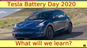What To Expect From The Tesla Battery Day? This Video ...