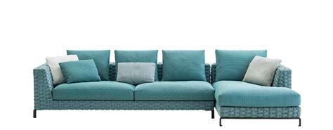 turquoise area sofa outdoor fabric b b italia outdoor design by