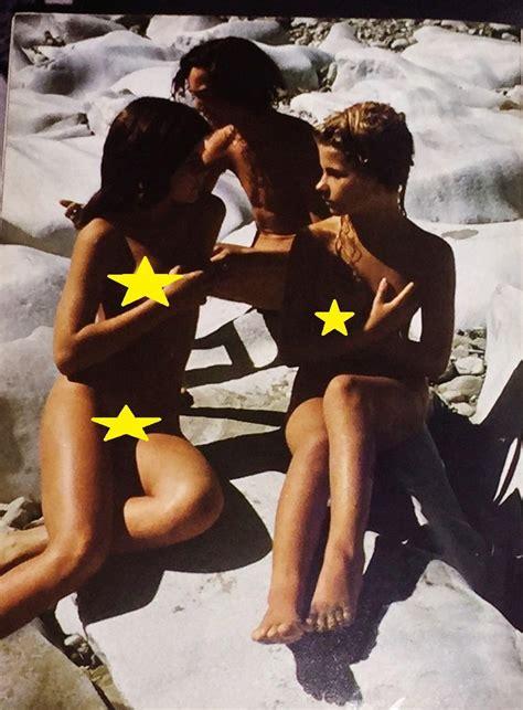 Eva Ionesco And Lara Wendel 1977 Legendary Magazine Issue 10
