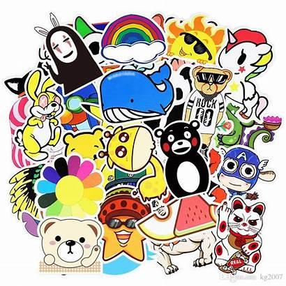 Stickers Cartoon Random Sticker Poster Wall 3d