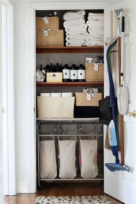 Bathroom Linen Closet Organization Ideas by Tips For Organizing Your Linen Closet Neato Linen
