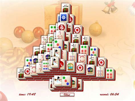 download christmas tree mahjong free games