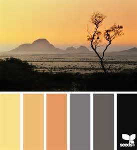 Design Seeds Color Palette Desert
