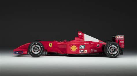 Michael Schumacher's 2001 Ferrari F2001 Being Auctioned