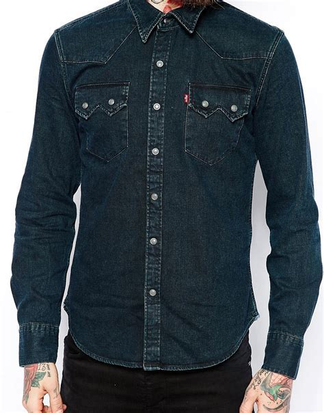 07e35557da Levi Sawtooth Western Shirt - Levi Jeans Women More information ...