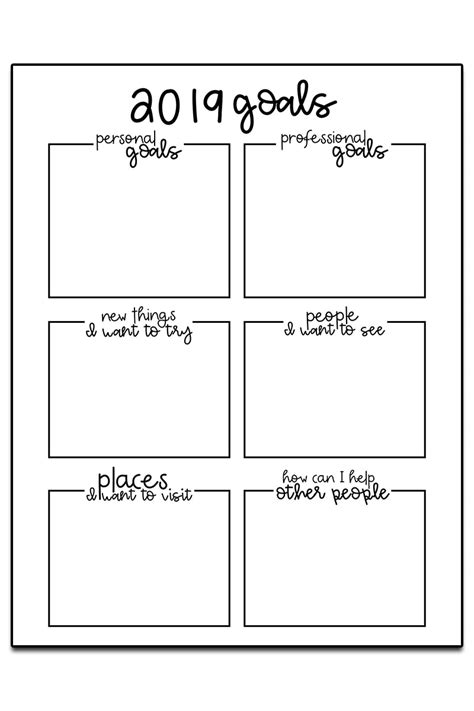 goal setting worksheets 3 free goal planner printables