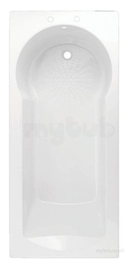 white madea space saving keyhole  tap hole shower bath