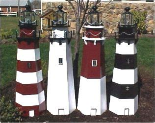 lighthouse building plans lawn lighthouse woodworking plans build   lawn lighthouse