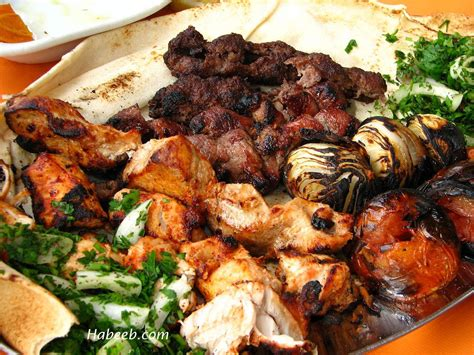 cuisine grill recipes buffet lebanese food food