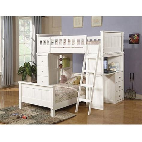 willoughby twin over twin wood bunk bed with desk