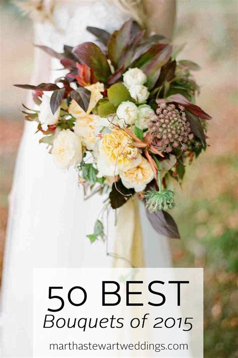 50 Best Bouquets Of 2015 Martha Stewart Weddings
