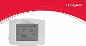 Honeywell Thermostat Rth8580wf1007  W1 User Guide
