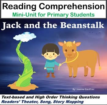 jack and the beanstalk a primary literacy unit by ms joanne tpt
