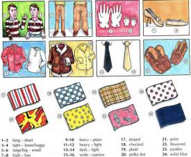 compound words for preschoolers describing clothing vocabulary with pictures