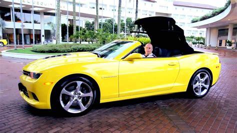 versao conversivel  camaro amarelo chega ao brasil youtube