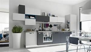 la cuisine grise plutot oui ou plutot non With maison grise et blanche 9 comment amenager une petite cuisine idees en photos