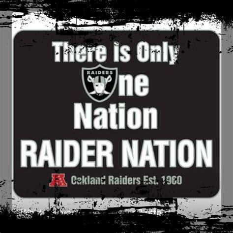Raider Nation Memes - raider nation the oakland raiders pinterest