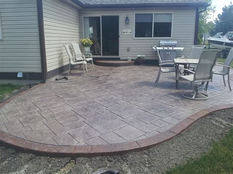 Cement Patio by Concrete Patio Design Ideas Patio Designs Concrete