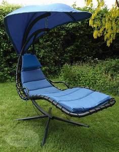 Fauteuil Relax Jardin : chaise longue suspendue et fauteuil relax ~ Nature-et-papiers.com Idées de Décoration