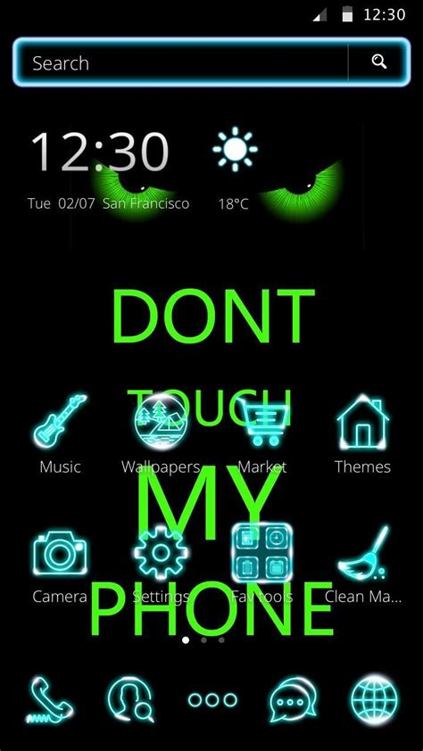 781 x 1169 jpeg 525 кб. Don't Touch My Phone green theme HD cool wallpaper for Android - APK Download