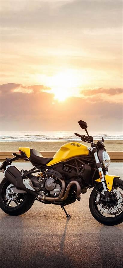 Ducati Monster Bike Background 4k Iphone
